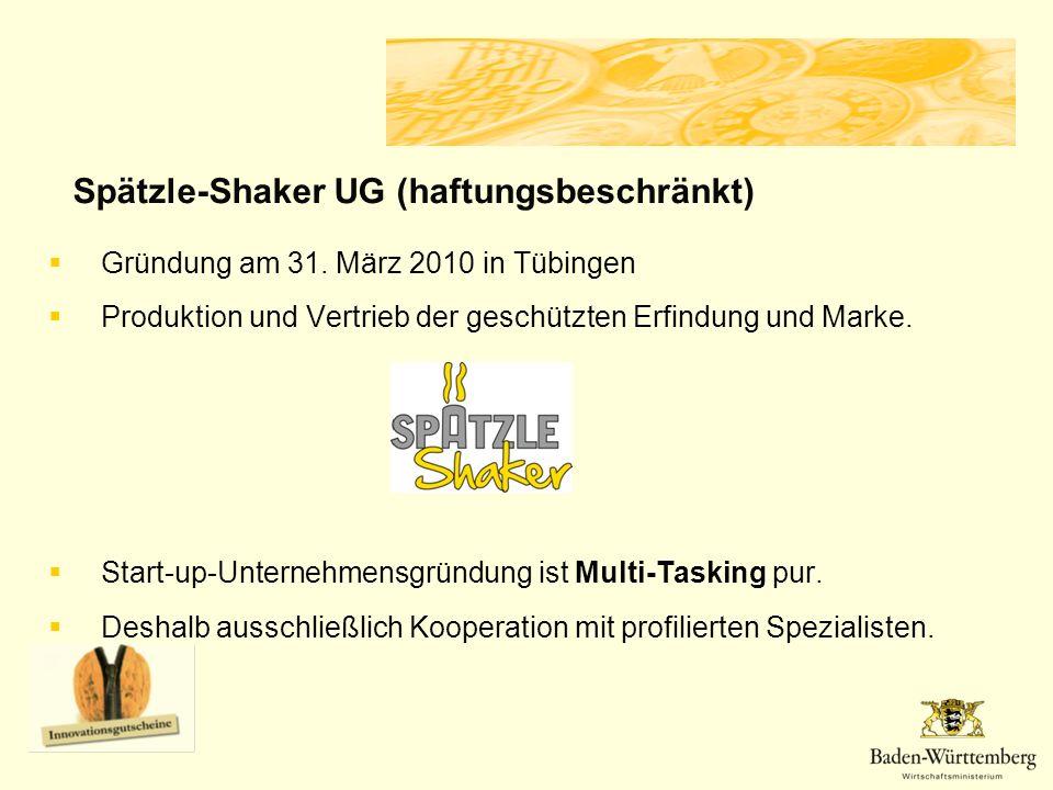 Spätzle-Shaker UG (haftungsbeschränkt)