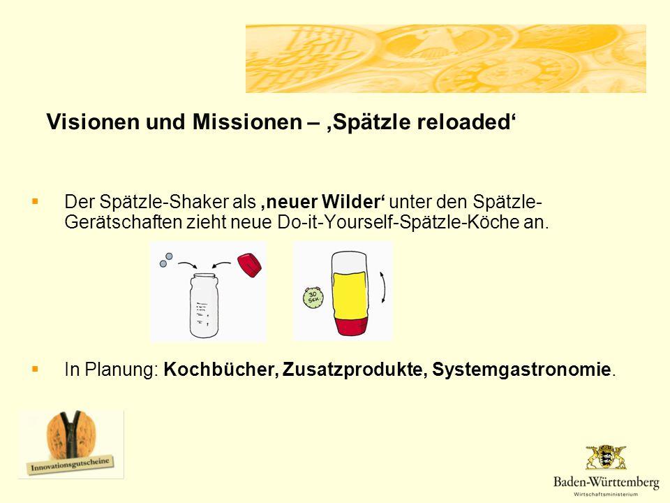 Visionen und Missionen – 'Spätzle reloaded'