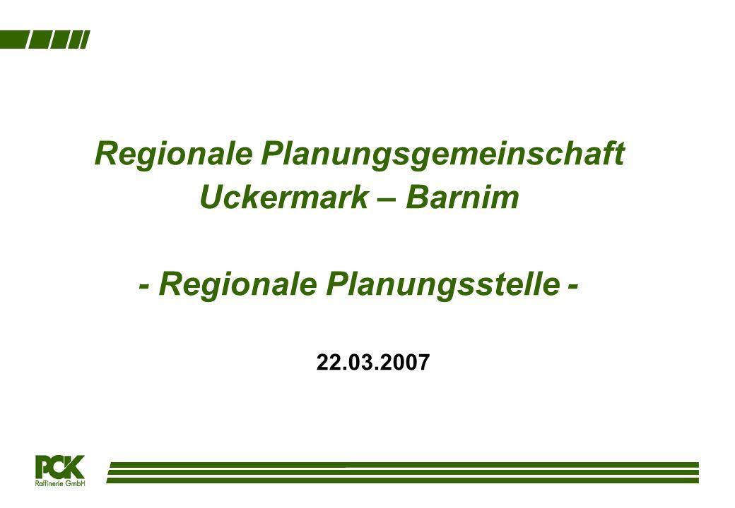 Regionale Planungsgemeinschaft Uckermark – Barnim - Regionale Planungsstelle -