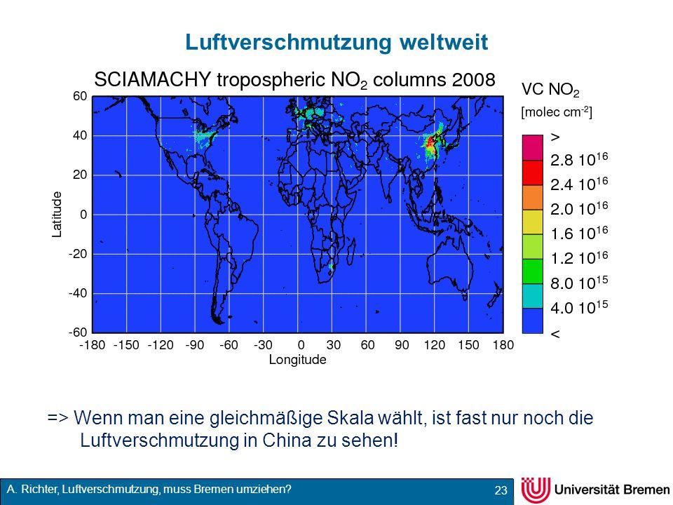 Luftverschmutzung weltweit