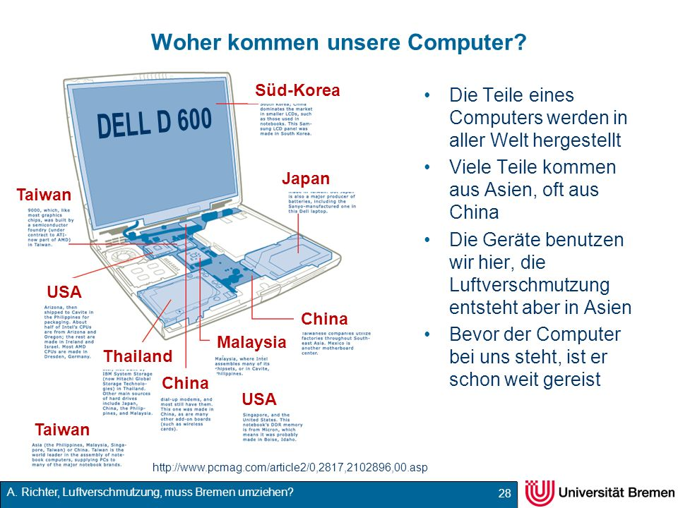 Woher kommen unsere Computer