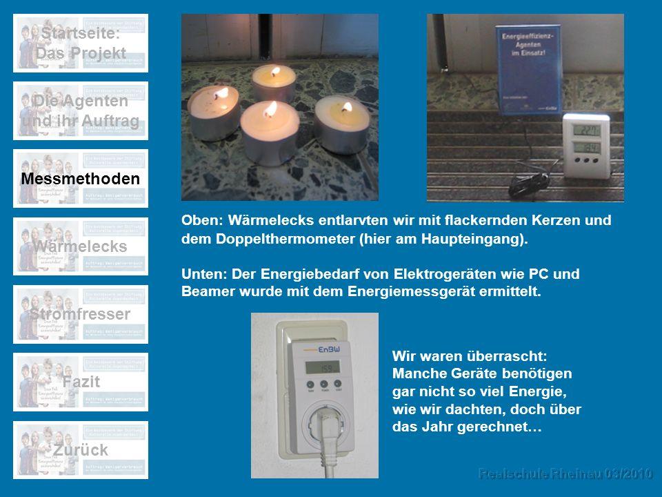 Startseite: Das Projekt Die Agenten und ihr Auftrag