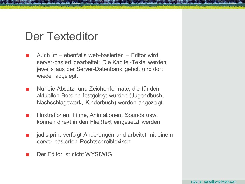 Der Texteditor