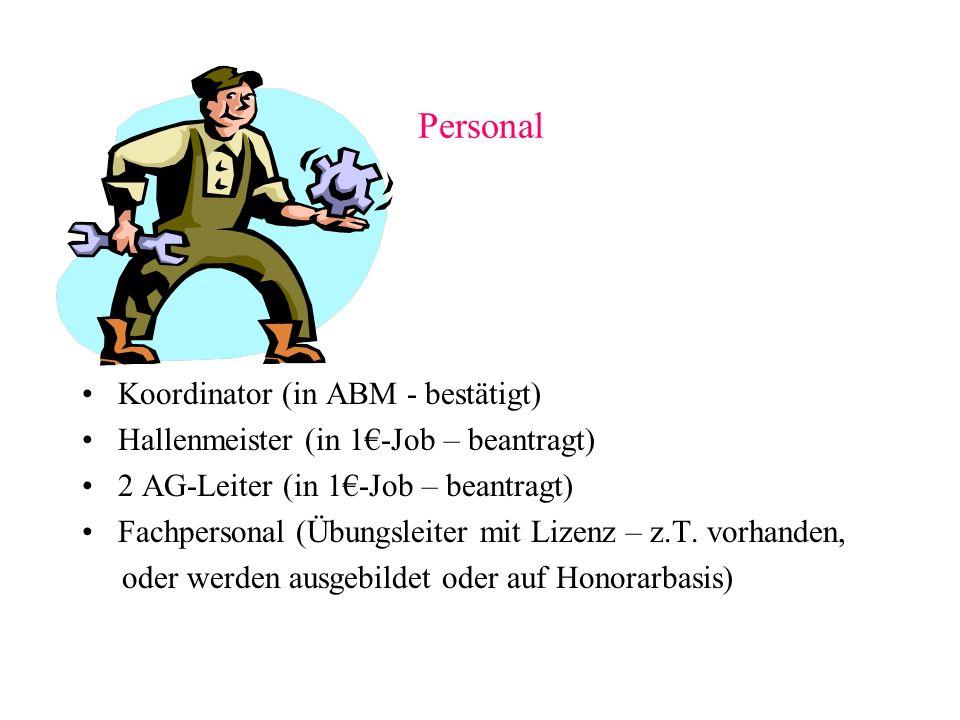 Personal Koordinator (in ABM - bestätigt)