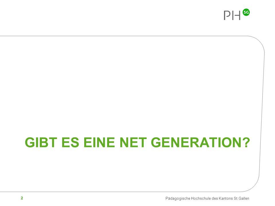 Gibt es eine Net Generation