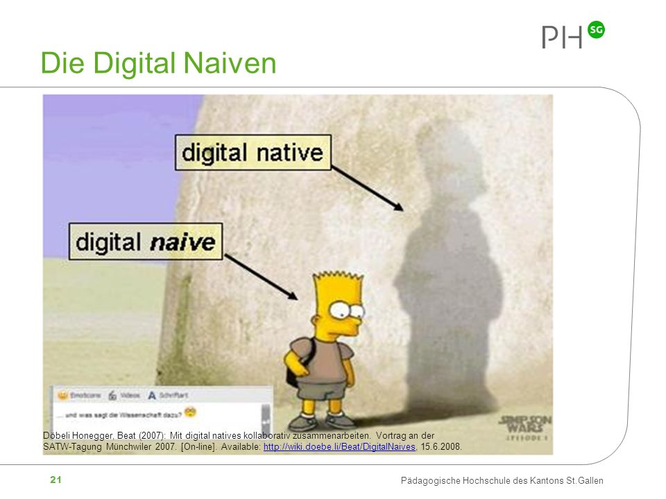 Die Digital Naiven