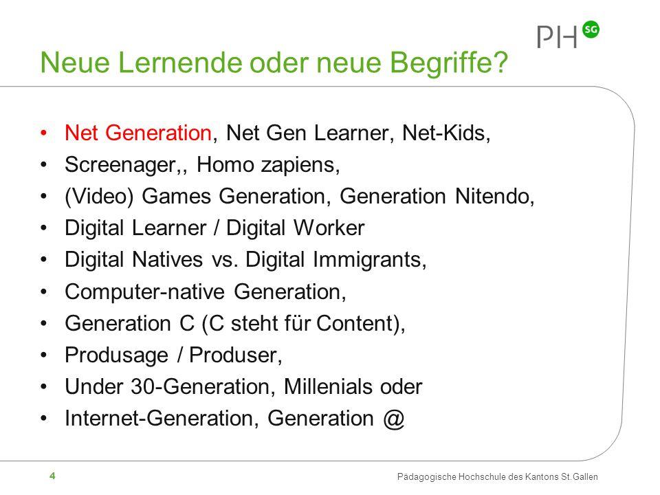 Neue Lernende oder neue Begriffe