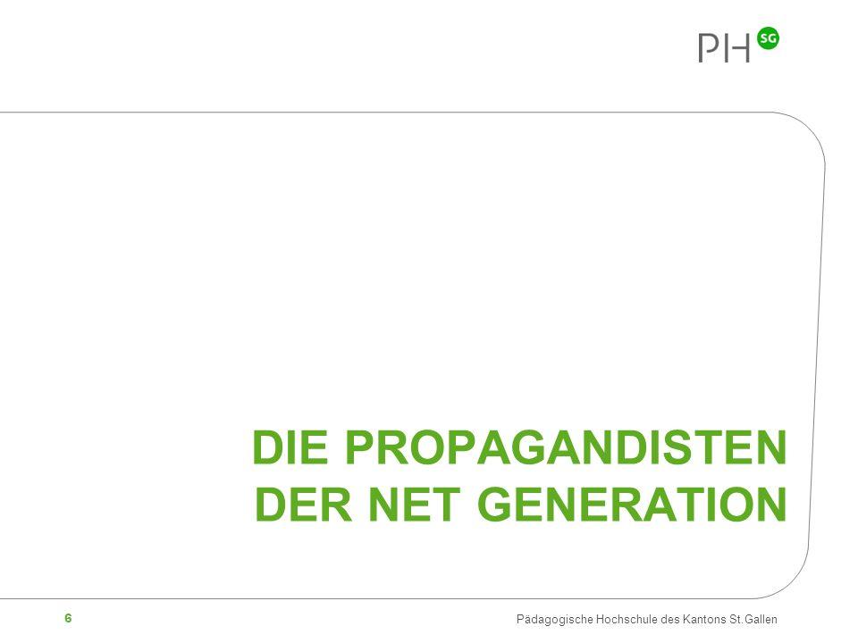 Die Propagandisten der Net Generation