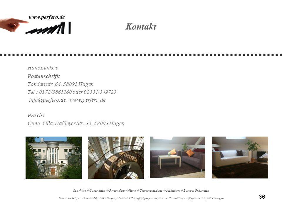 Kontakt Hans Lunkeit Postanschrift: Tondernstr. 64, 58093 Hagen