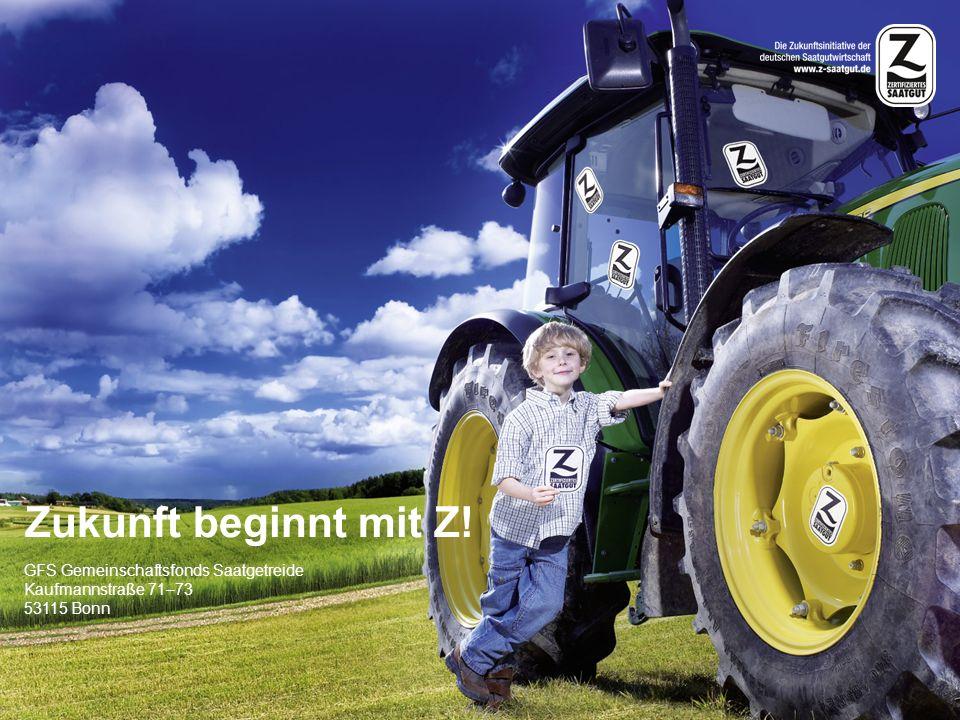 Zukunft beginnt mit Z! GFS Gemeinschaftsfonds Saatgetreide