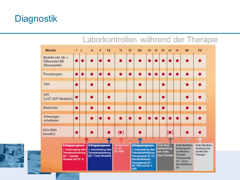 Diagnostik Laborkontrollen während der Therapie