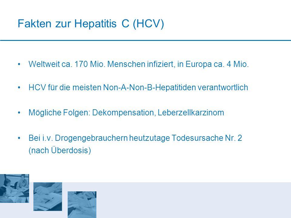 Fakten zur Hepatitis C (HCV)