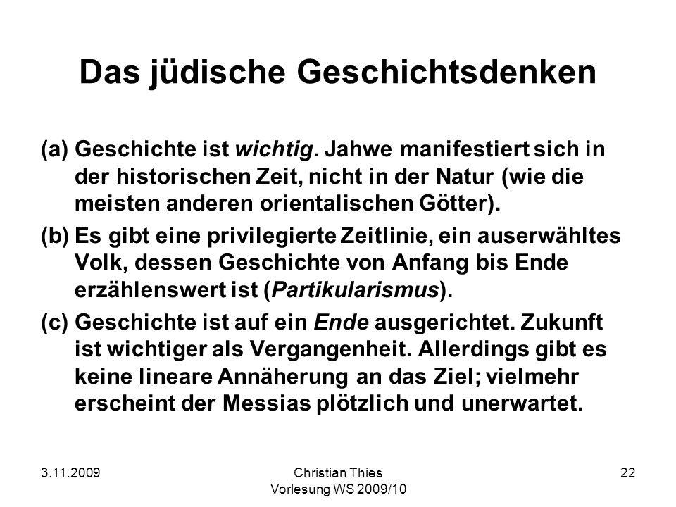 Das jüdische Geschichtsdenken