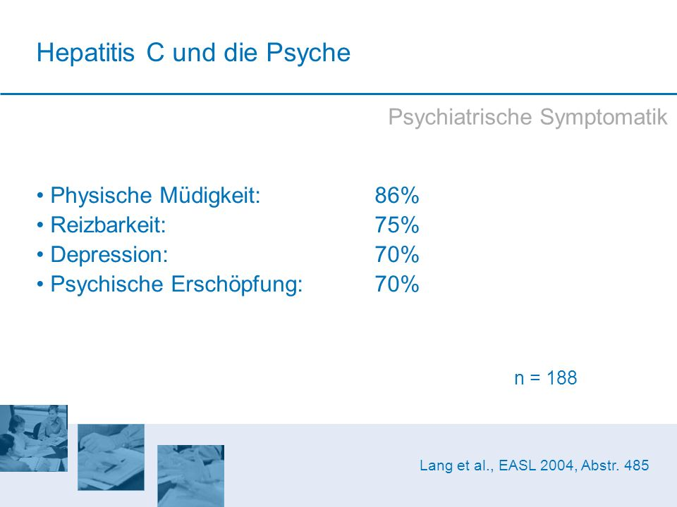 Hepatitis C und die Psyche