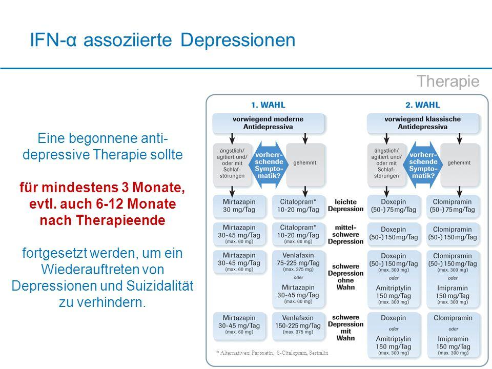 IFN-α assoziierte Depressionen