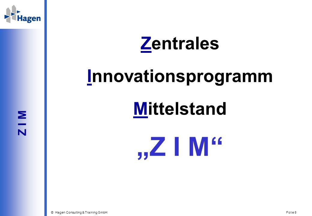 """Zentrales Innovationsprogramm Mittelstand """"Z I M Z I M"""