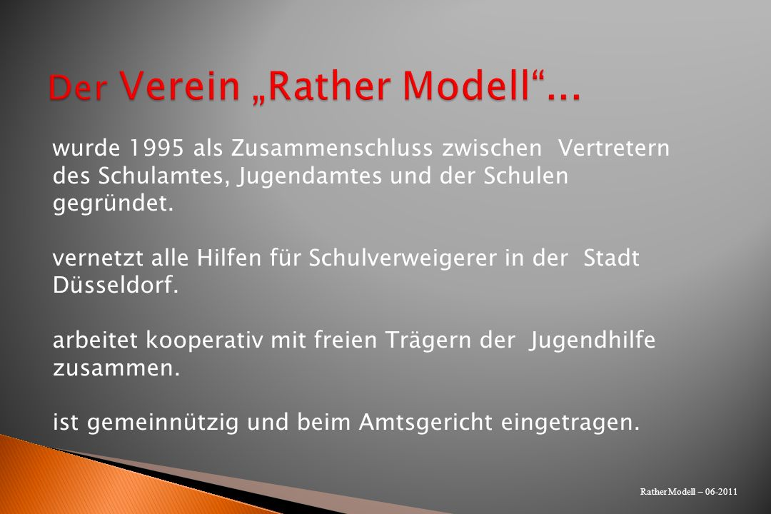 "Der Verein ""Rather Modell ..."