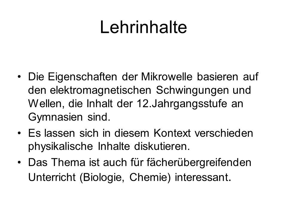 Lehrinhalte
