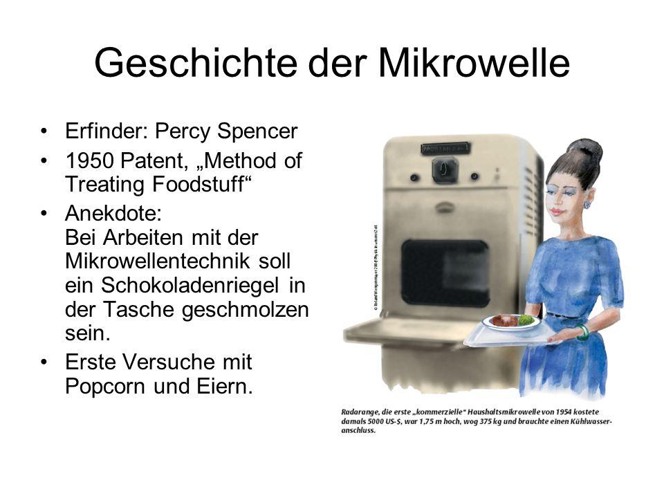 Geschichte der Mikrowelle