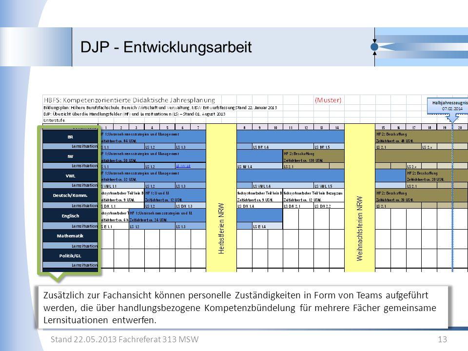 DJP - Entwicklungsarbeit