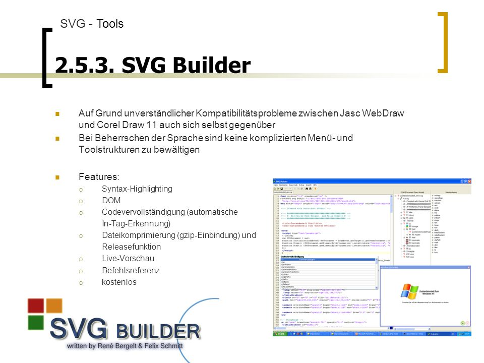 SVG Builder SVG - Tools.