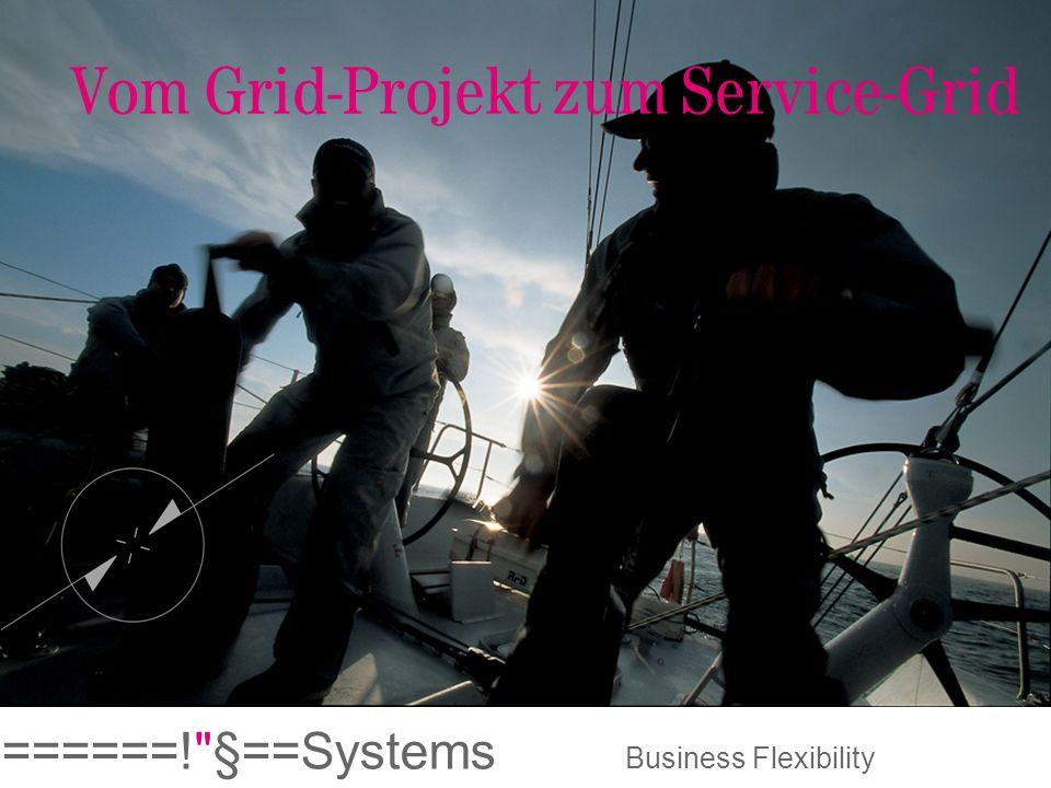 Vom Grid-Projekt zum Service-Grid