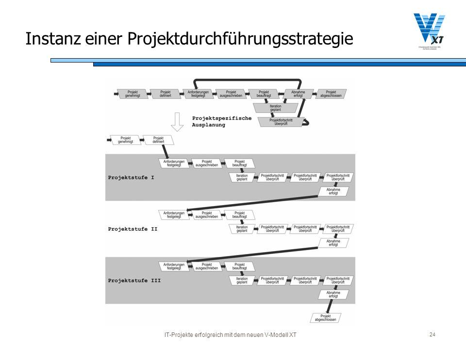 Instanz einer Projektdurchführungsstrategie