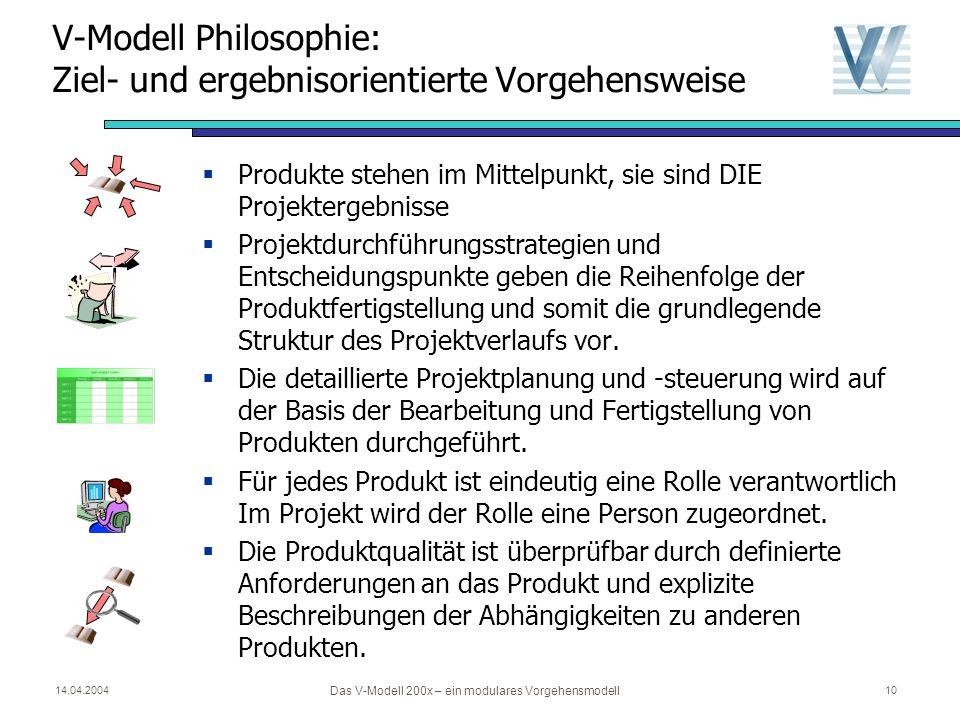 V-Modell Philosophie: Ziel- und ergebnisorientierte Vorgehensweise