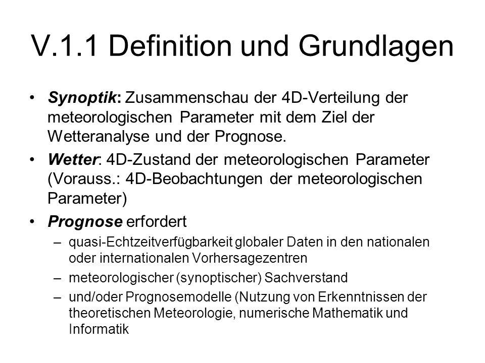 V.1.1 Definition und Grundlagen