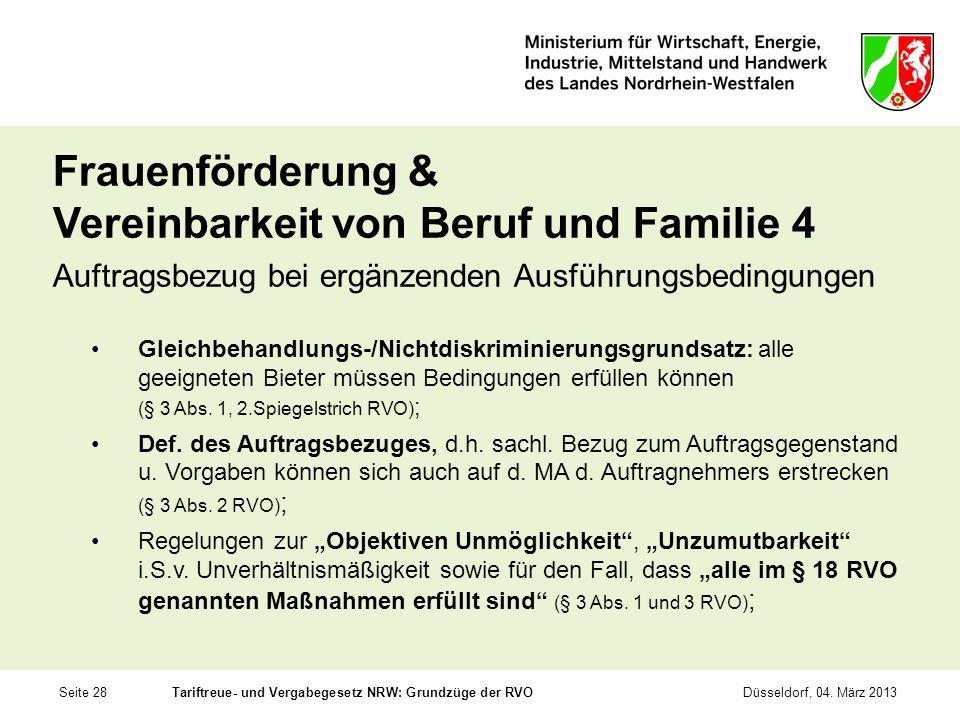 Frauenförderung & Vereinbarkeit von Beruf und Familie 4