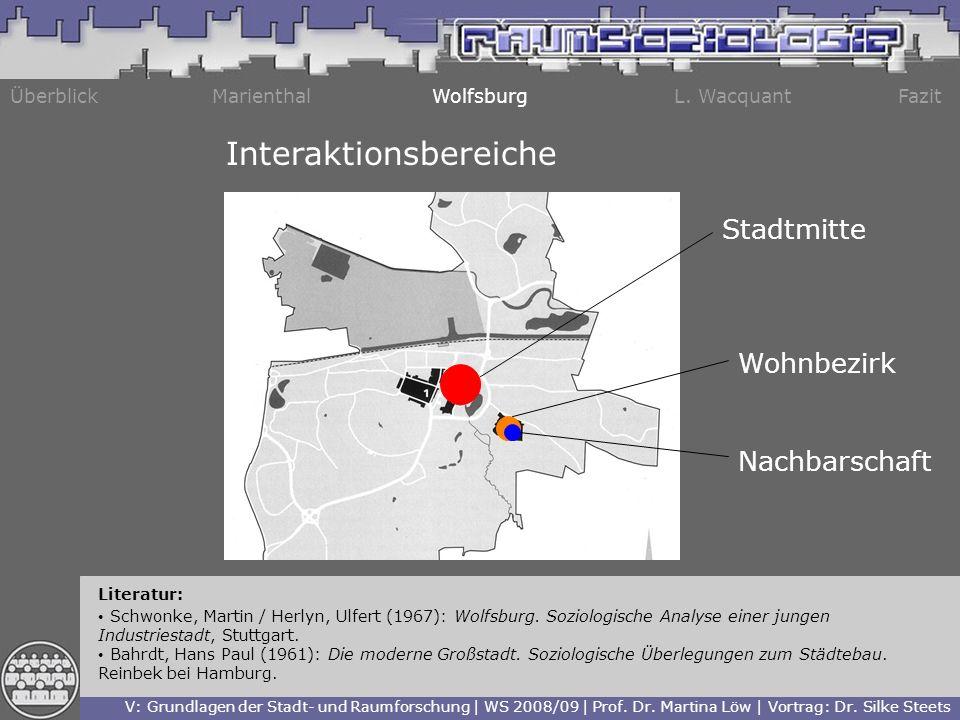 Interaktionsbereiche