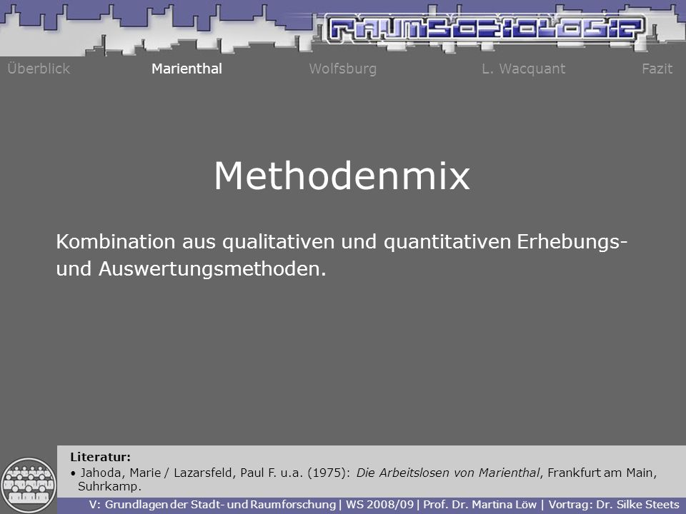 Methodenmix Kombination aus qualitativen und quantitativen Erhebungs-