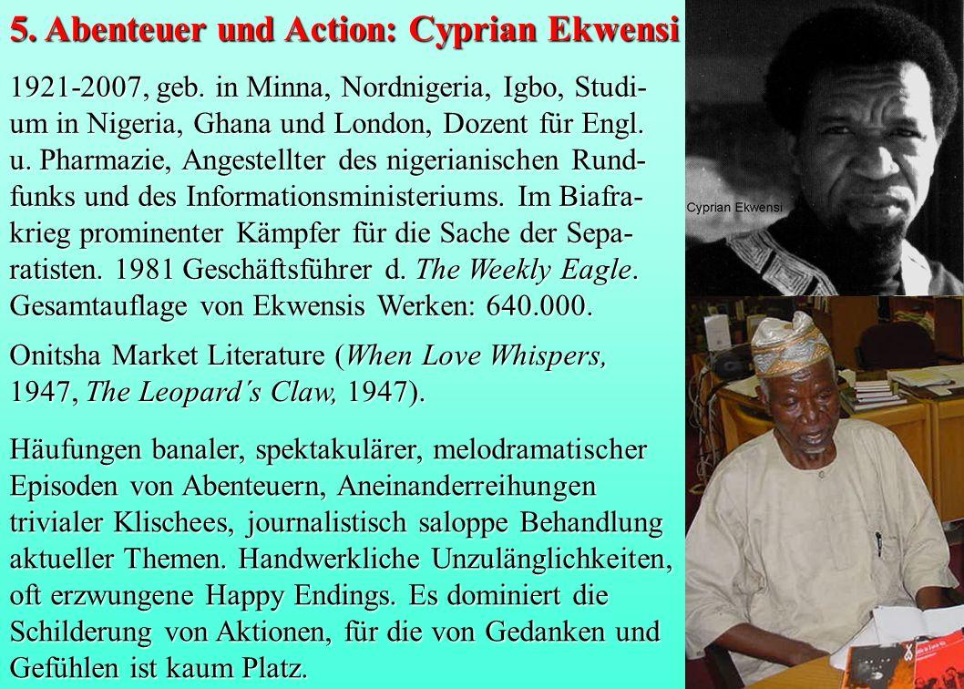 5. Abenteuer und Action: Cyprian Ekwensi
