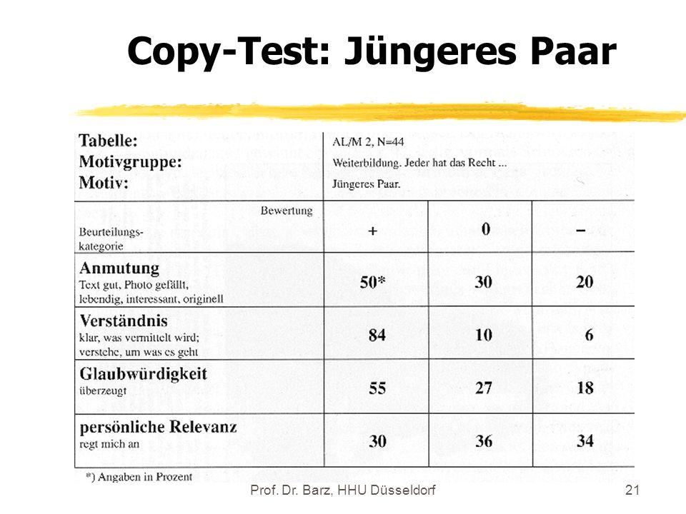Copy-Test: Jüngeres Paar
