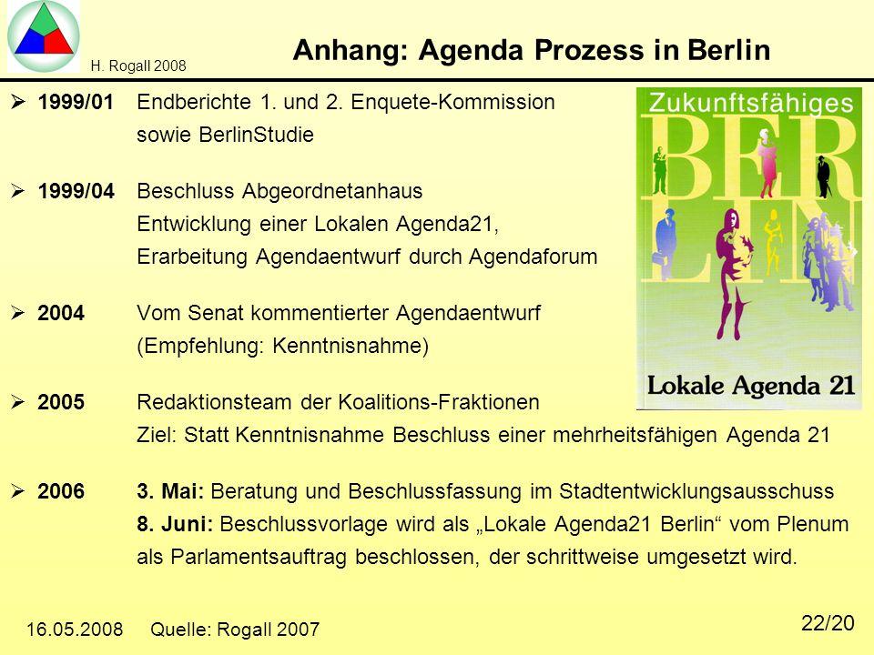 Anhang: Agenda Prozess in Berlin