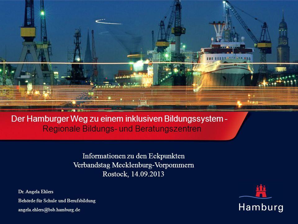 Der Hamburger Weg zu einem inklusiven Bildungssystem -