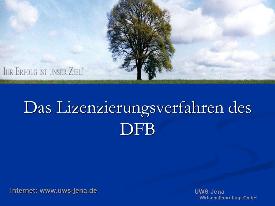 Das Lizenzierungsverfahren des DFB