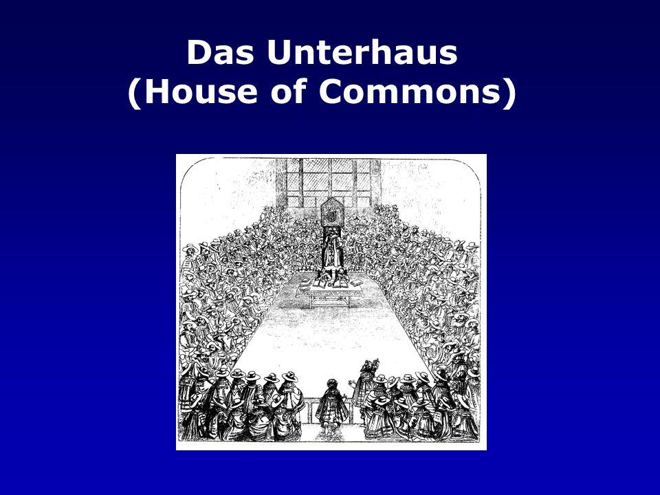 Das Unterhaus (House of Commons)