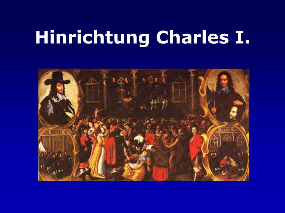 Hinrichtung Charles I.