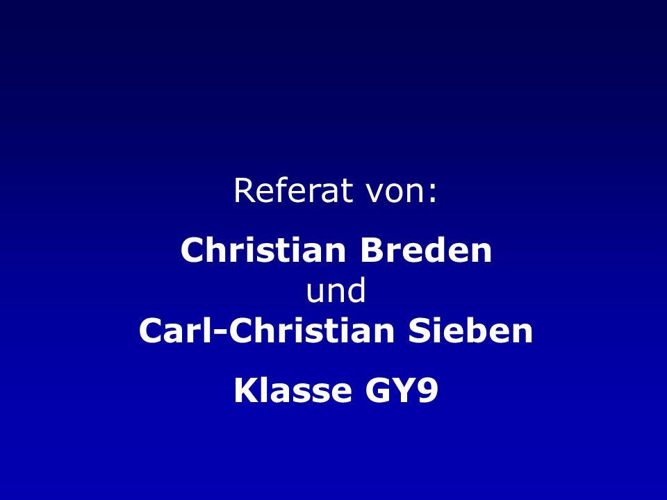 Christian Breden und Carl-Christian Sieben