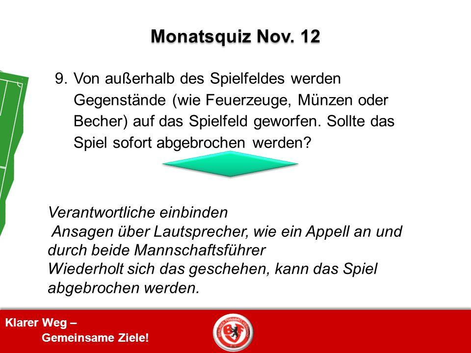 Monatsquiz Nov. 12