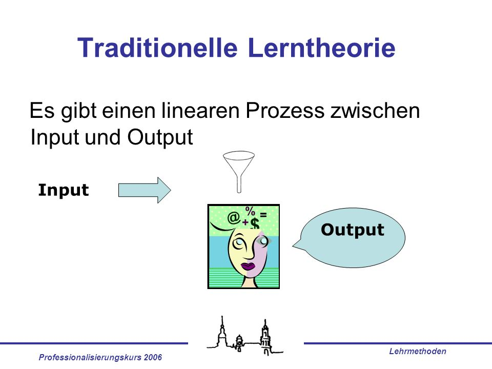 Traditionelle Lerntheorie