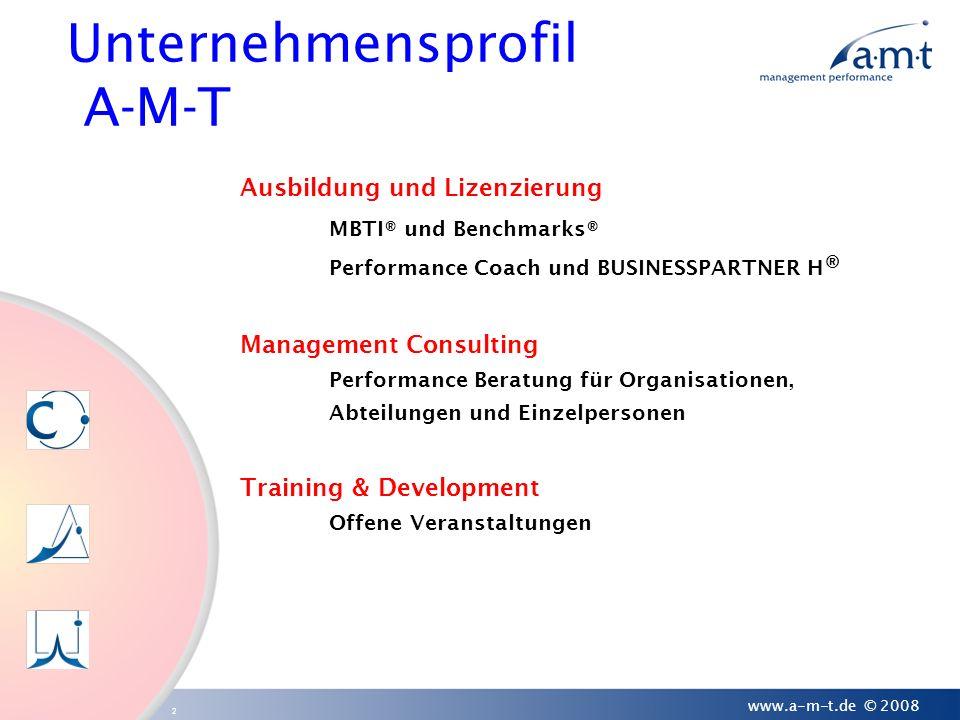 Unternehmensprofil A-M-T
