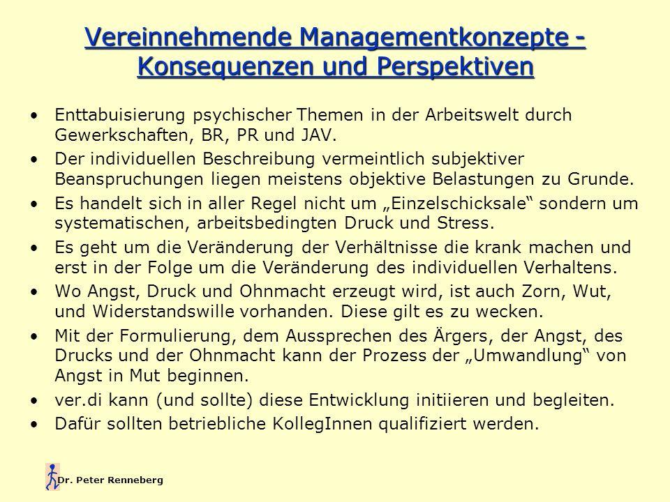 Vereinnehmende Managementkonzepte - Konsequenzen und Perspektiven