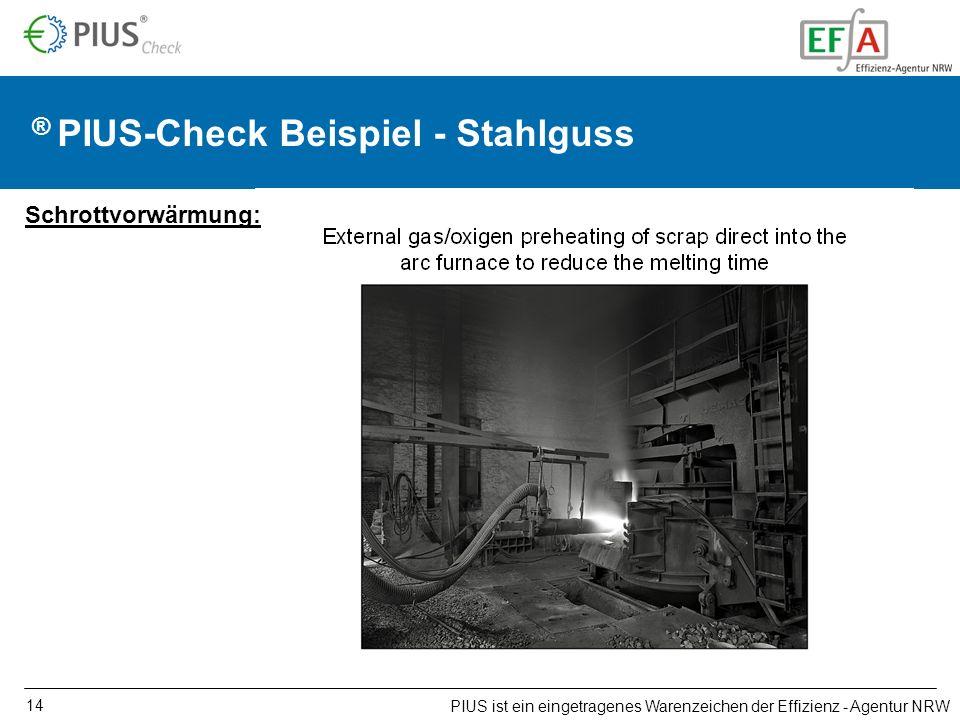 PIUS ist ein eingetragenes Warenzeichen der Effizienz - Agentur NRW