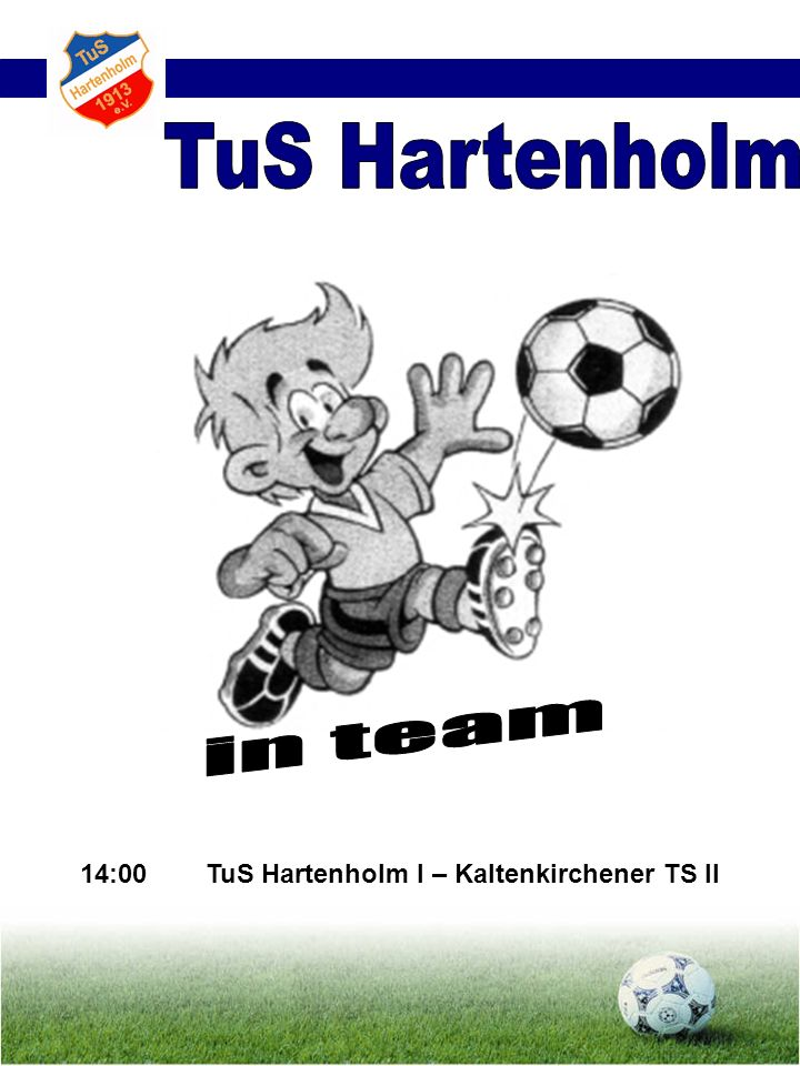 14:00 TuS Hartenholm I – Kaltenkirchener TS II
