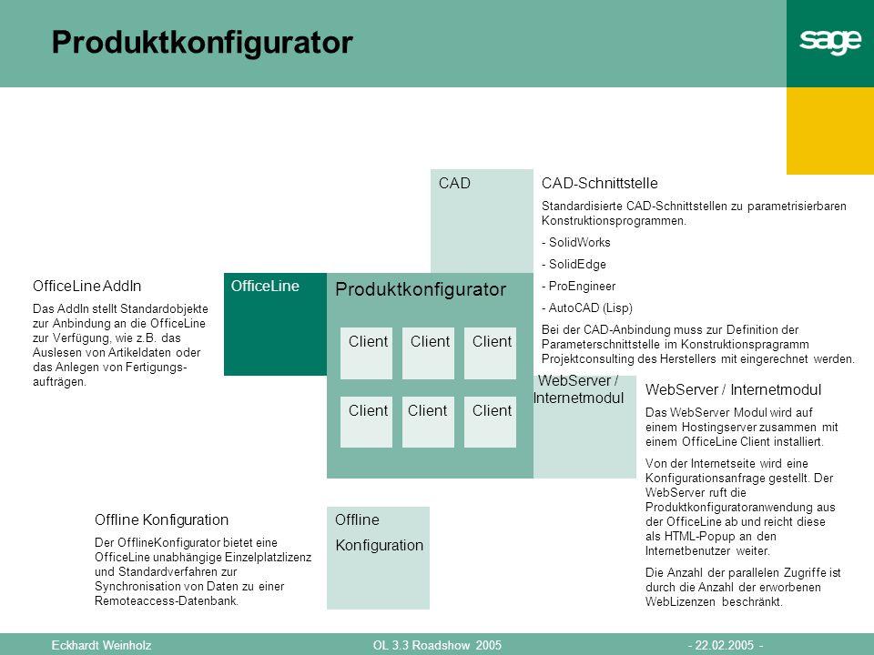 WebServer / Internetmodul
