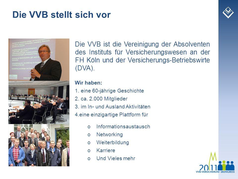 Die VVB stellt sich vor