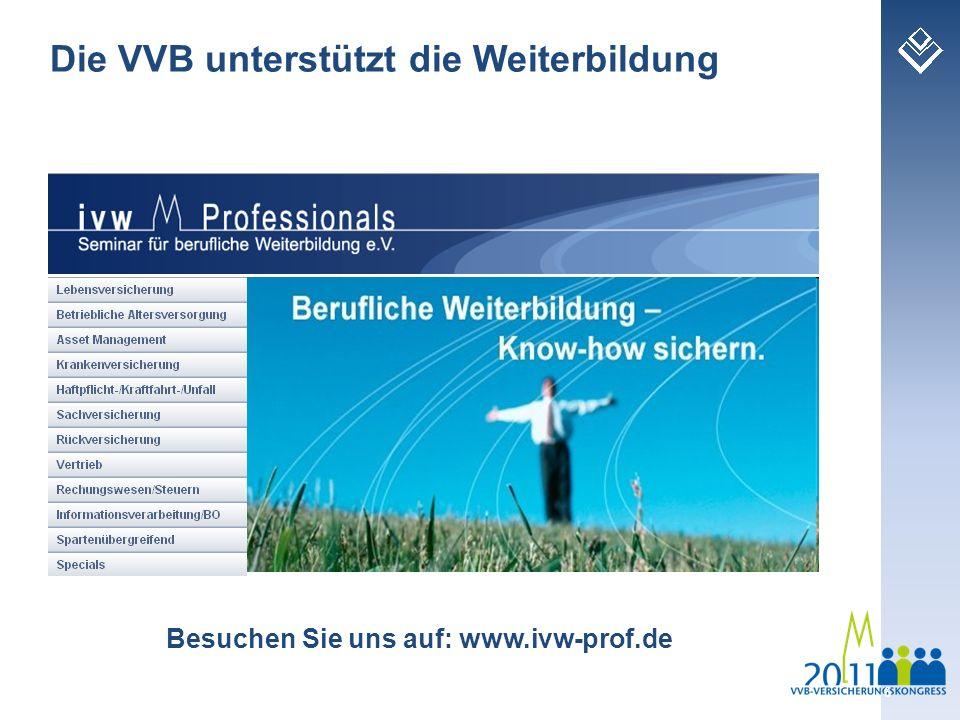 Besuchen Sie uns auf: www.ivw-prof.de