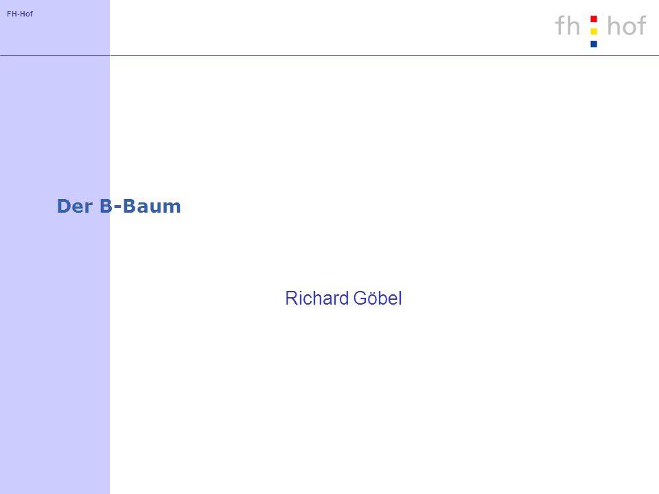 Der B-Baum Richard Göbel